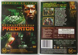PREDATOR-SCHWARZENEGGER-FOX-DTS-2-DISC-AUSTRALIA-REGION-4-PAL-DVD