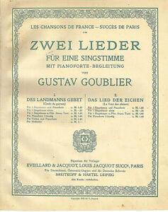 034-Das-Lied-der-Eichen-034-von-Gustav-Goublier-uebergrosse-alte-Noten