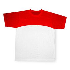 Koszulka-Czerwona-Sport-Cotton-Sublimacja-M