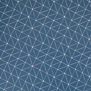 Stoff-Baumwolle-beschichtet-Swafing-Luna-petrol-weiss-Motiv-Abstrakt-160cm