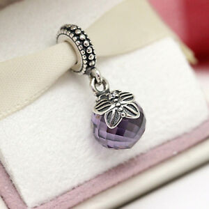 d989d973e Image is loading Authentic-Pandora-Purple-Morning-Butterfly-Charm-791258ACZ