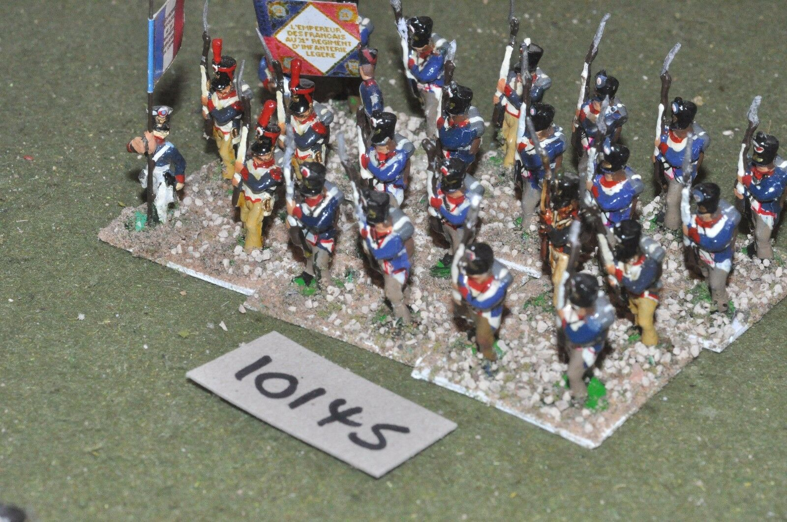 25mm napoleonic   french - 24 infantry - inf (10145)