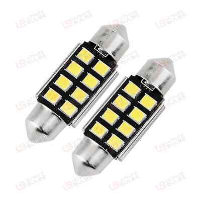 1x Ford Fiesta MK6 Bright Xenon White 3SMD LED Canbus Number Plate Light Bulb