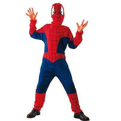 Costume UOMO RAGNO Spiderman Ragazzo Tg 5//7-7//9-9//12 anni