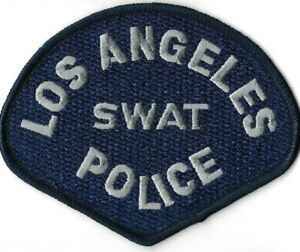 Los Angeles LAPD - SWAT - SEK - Polizei Abzeichen Police Department Patch USA