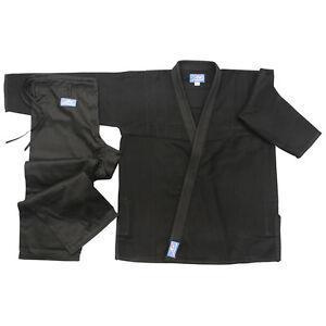 Brasilianischer-Jiu-Jitsu-Uniform-Weiss-Bjj-Erwachsene-Gi-Studenten-Anzug-Ju