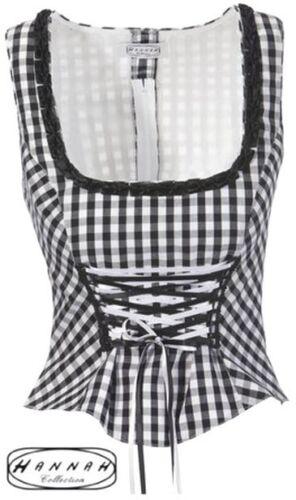 costumes Folkloriques-Corsage 34 40 46 Hannah 100 € Black 186403 Nouveau FETE Maison de campagne mode