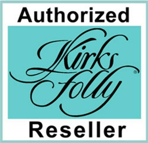 Kirks Folly SEAVIEW WATER MOON 50mm DUAL MIRROR COMPACT Pink Silvertone