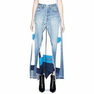Vinti-Andrews-Denim-Maxi-Skirt-floral-panel