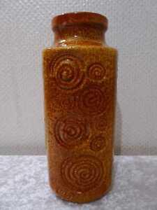 Midcentury Rockabilly Ceramica Design Vaso - Vintage Circa 1950/60 - 27 CM