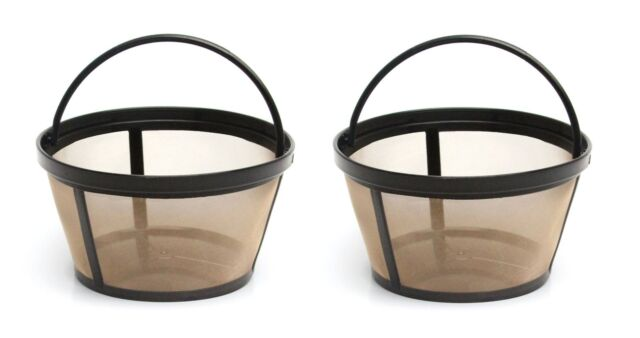 2 Two Cup Filter Coffee Baskets for Saeco 124650221 Portafilters