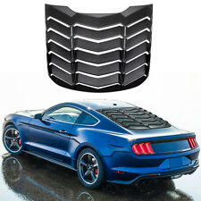 Abs Rear Window Louver Cover Sun Shade Vent Fit For Ford Mustang 2015 2021 Scoop Fits Mustang