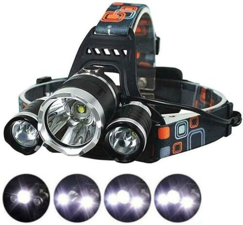 LED Camping Headlamp Fishing Flounder Frog Gigging Light Equipment Ultra Bright