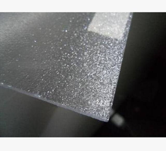 Frosted Diffuser Acrylic Panel Sheet Plexiglass Plastic Plate 30cm*30cm #B4S