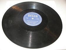 Bobbejaan Schoepen Ik Sta Op Wacht/ Waarom Schrijf Je Me Niet 78 VG Decca 22.727