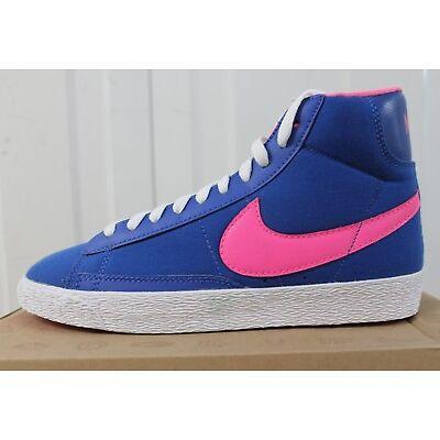 free shipping 4830b 00839 ... greece womens girls nike blazer vintage highs blue pink 577320 400  9164e 1ab8c