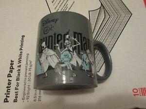 Disney The Haunted Mansion Hitchhiking Ghost Ceramic 20oz Mug New