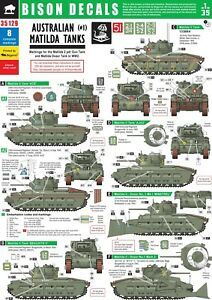 Bison-Decals-1-35-Australian-Matilda-Tanks-1-35129