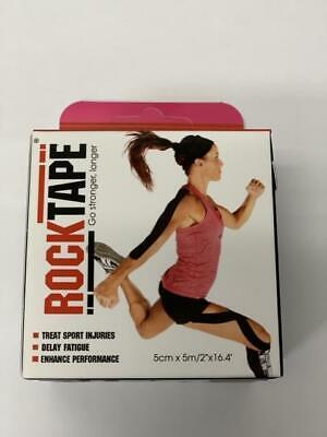 LOT of 2 RockTape Kinesiology tape 2-Inch X 16.4-Feet Sports//CrossFit black