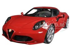 ALFA ROMEO 4C ALFA RED 1/18 MODEL CAR BY AUTOART 70189