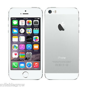 APPLE-IPHONE-5S-A1533-4-034-32GB-4G-Smartphone-Movil-Libre-1080P-Desbloqueado-Plata