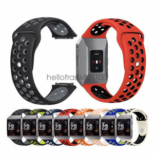 Silicone-Sport-Bracelet-Watch-Strap-Watchband-For-Fitbit-Ionic-Replacement-Band
