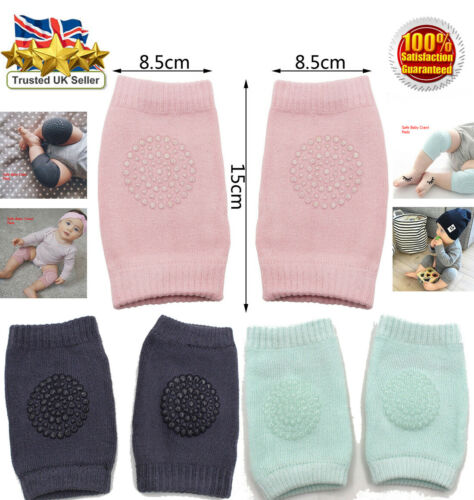 Infant Toddler Doux Anti-Dérapant Coude Coussin Ramper genou Pad for baby safe UK