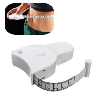 Retractable Ruler Fitness Accurate Caliper Measuring Tape Accessories Body-Wa^KN