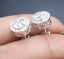 Deal-1-05CT-NATURAL-ROUND-DIAMOND-HALO-CLUSTER-STUDS-EARRINGS-IN-14K-GOLD-9MM thumbnail 4