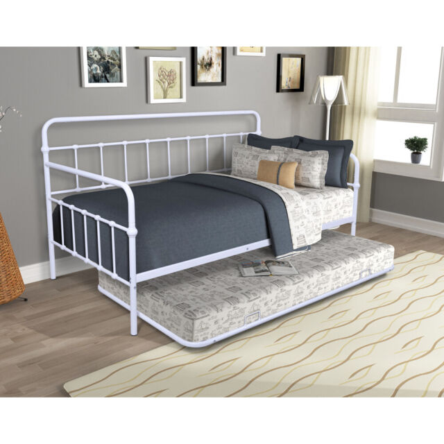 Leto Muro Allegra White Double Wall Bed With Desk Space Saving Bedroom Furniture For Sale Online Ebay
