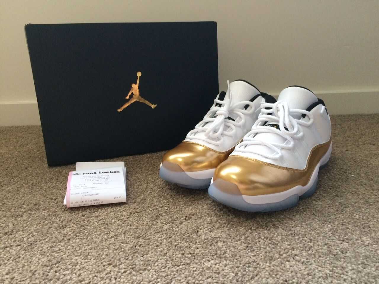 Air Jordan XI 11 Low Metallic Gold  Closing Ceremony Ceremony Ceremony  10.5 US 1fb622