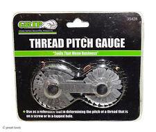 Thread Pitch Gauge Tool Sae Amp Metric Threads Machinist Hand Tools Checker