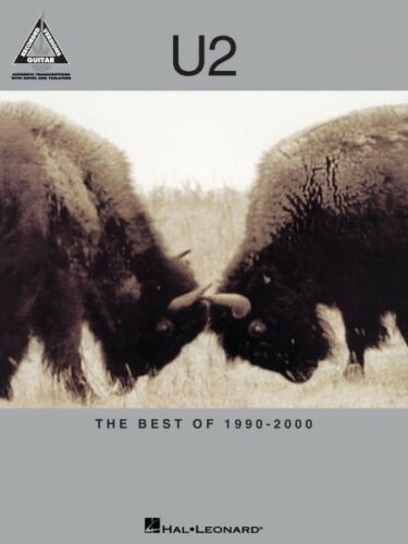 U2 The Best of 1990-2000 Sheet Music Guitar Tablature NEW 000690732