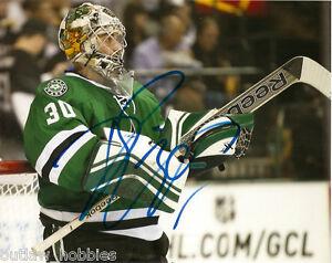 Dallas-Stars-Dan-Ellis-Signed-Autographed-8x10-Photo-COA