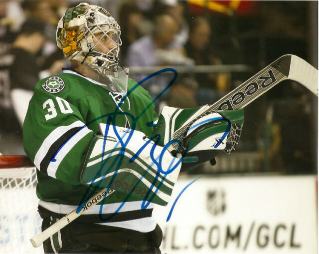 Dallas Stars Dan Ellis Signed Autographed 8x10 Photo COA