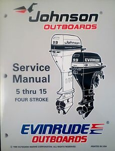 1997 johnson evinrude 5 6 8 9 9 15 hp 4 stroke outboard. Black Bedroom Furniture Sets. Home Design Ideas