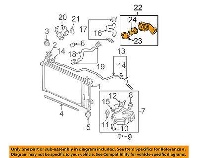 Buick GM OEM 05-07 LaCrosse-Engine Coolant Thermostat Housing 12597257