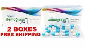 2 Demograss PLUS 60 DAY Supply GUARANTEED Original Demograss 2 MESES 60 CAPSULES