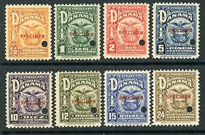 PANAMA-1924-ARMS-ISSUE-with-SPECIMEN-OVERPRINTS-234-41