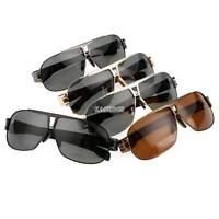 Herren Flieger Polarisiert Brillen Uv400 Sonnenbrille Outdoor Sport Fahren A