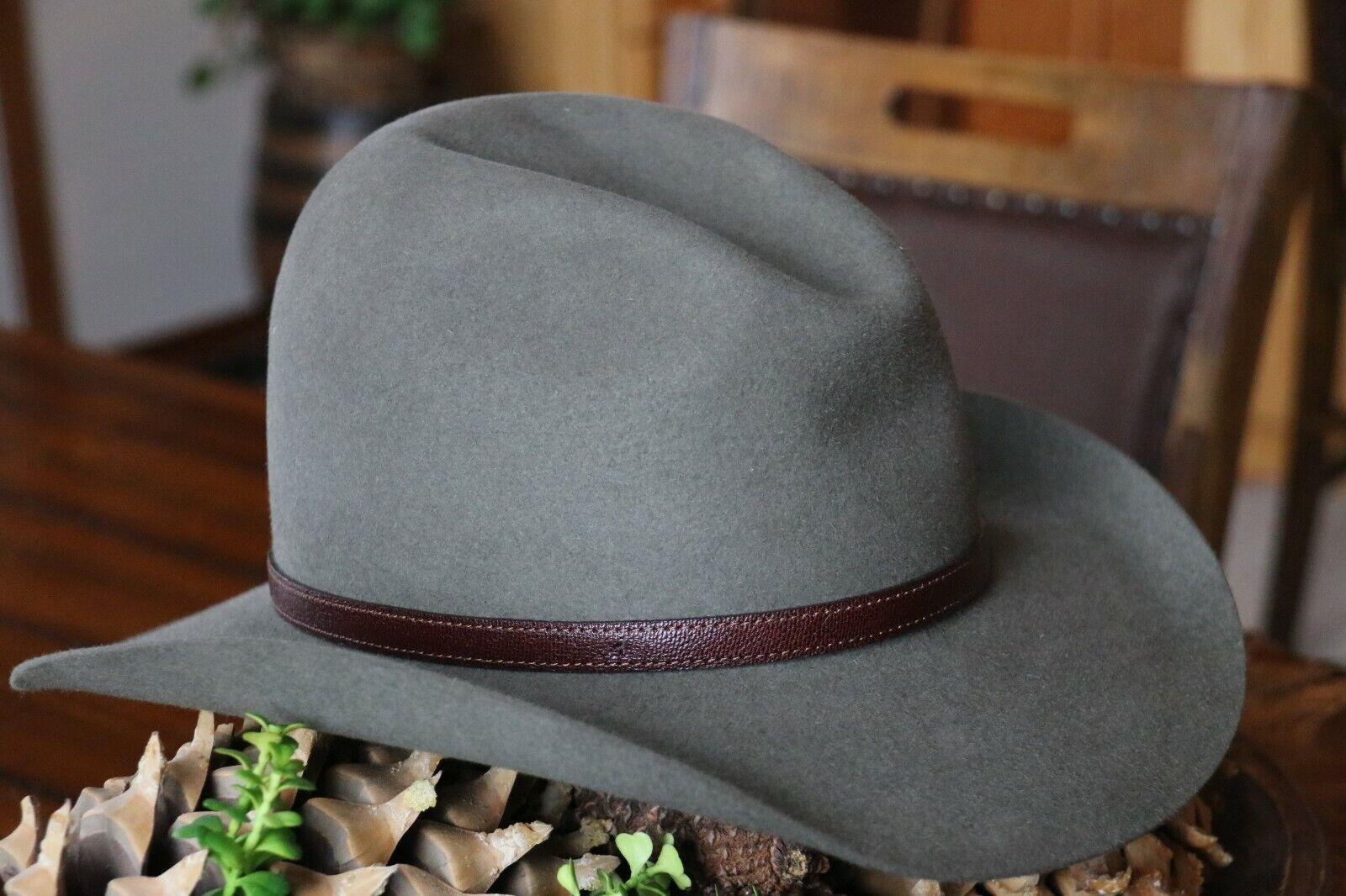 Akubra Lightning Ridge custom shaped hat