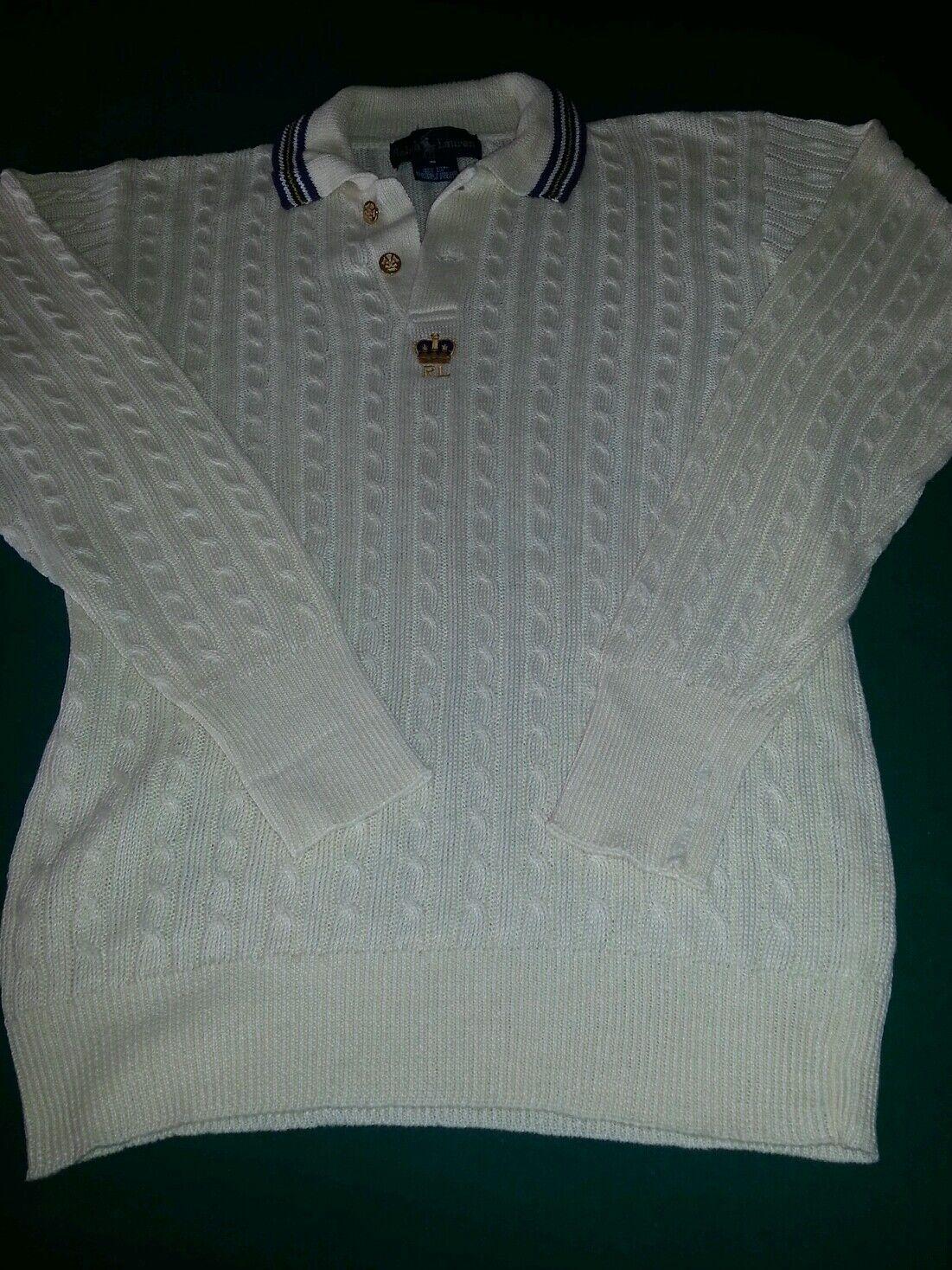 Womans Ralph Lauren sweater 100% linen