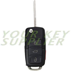 Uncut Golf Jetta Passat Beetle Remote Flip Key Fob Transmitter for VW Volkswagen | eBay