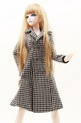 [wamami]600# Plaid Coat/Clothes/Outfit 1/3 SD DOD BJD Dollfie