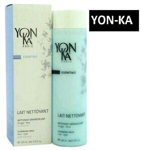 Yon-Ka-Lait-nettoyant-Cleansing-Milk-200ml-6-76oz-Yonka-Piel-Lavado-De-Cara-Autentico