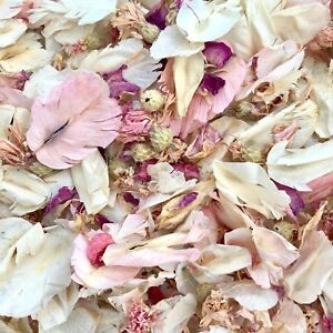 PINK-IVORY-Real-Throwing-Wedding-Petal-Confetti-1-litre-Dried-Biodegradable