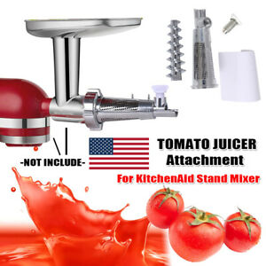 Tomato Juicer Attachment Reamer Kit For Kitchenaid Stand Mixer Accessories Ebay