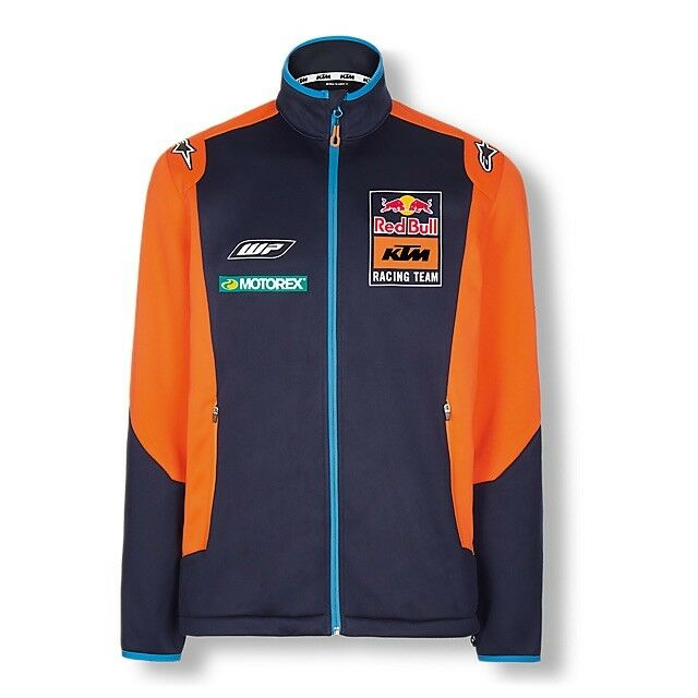 2018 Ufficiale rosso Bull KTM Racing Squadra Soft-Shell Giacca