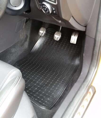 Front Waterproof Rubber Car Mats 2 Piece For Dacia Sandero Logan Dokker Duster