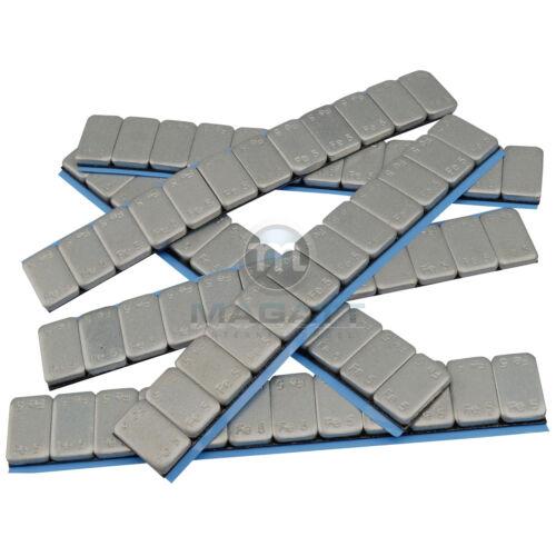 Lot de 100 barrettes de 60gr ización adhesives equilibrage autocollante 6kg 12x5g